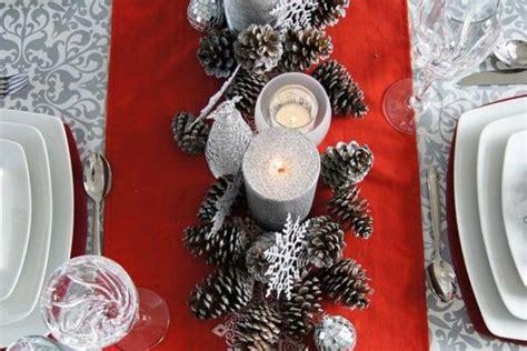 addobbi natalizi per tavola addobbi natalizi tavola fai da te