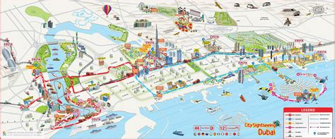dubai on map map of duba 239 tourist attractions sightseeing tourist tour