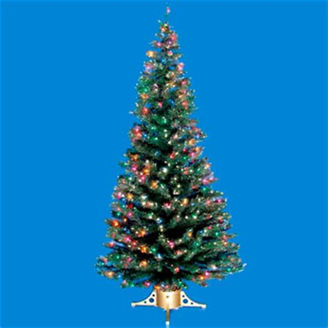 7 fiber optic christmas tree with mini lights