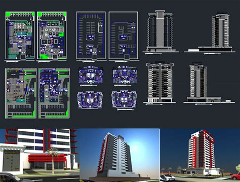 Cheap Duplex Plans mixed use building dwg autocad projects projects dwg