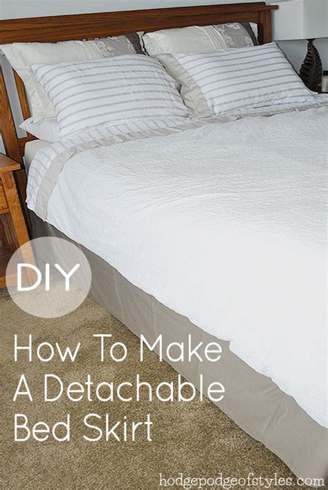 diy bed skirt pin by laughing abi on inspire my diy pinterest
