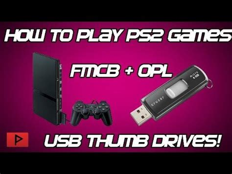 ps2 usb game format how to play ps2 games off of usb flash thumb drive no