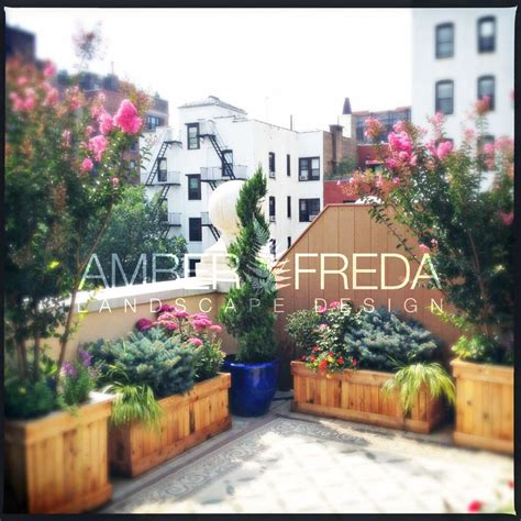 new york city rooftop garden design