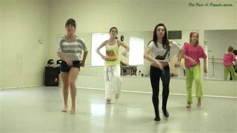 tutorial dance party rock anthem party rock anthem shuffle dance tutorial part 2 youtube