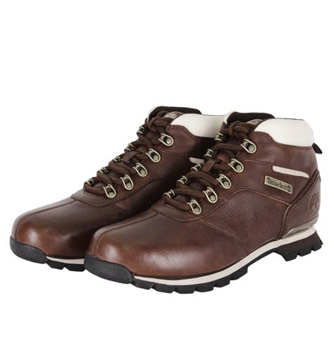 timberland splitrock 2 hiker mens boots brown ebay