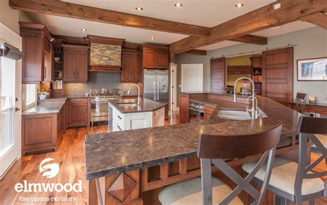 Kitchen Bar Definition What A Great Way To Define The Space Add A Breakfast Bar