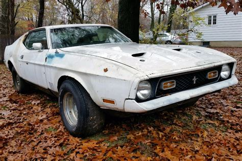 72 mach 1 mustang for sale cobra jet project 1972 mustang mach 1