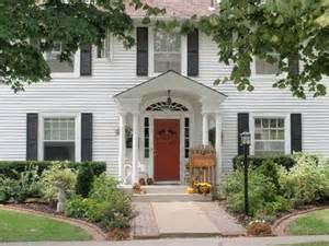 colonial front porch designs a romantic porch september s porch