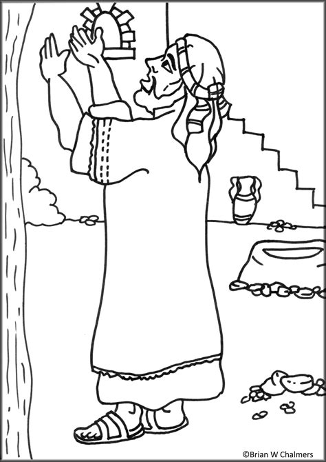 coloring pages jesus and zacchaeus jesus and zacchaeus coloring page wallpaper