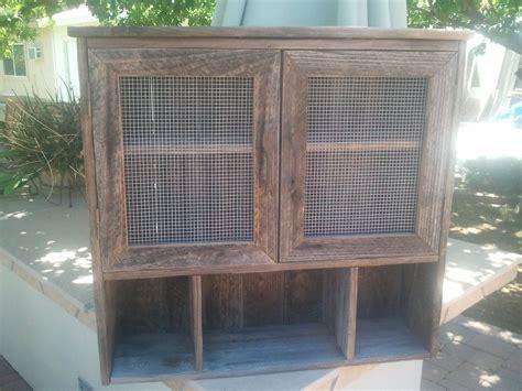 barnwood cabinet doors custom made two door barnwood wall cabinet by