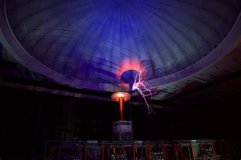 Tesla Dome Tesla Dome Picture Taken During The Tu Experience By