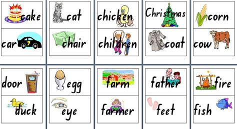 Printable Flash Cards Noun | dolch noun flash cards images frompo
