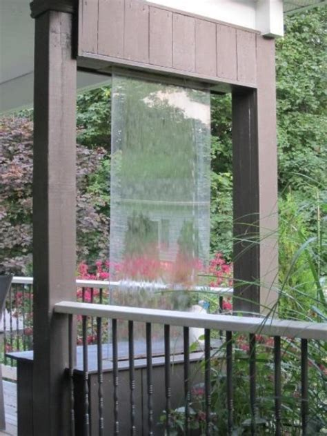 backyard water wall 49 amazing outdoor water walls for your backyard digsdigs