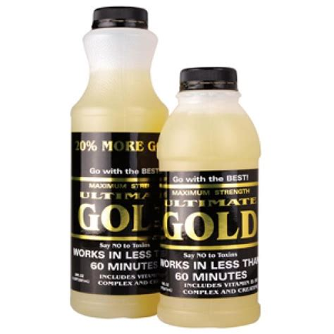 Ultimate Gold Detox For Test by Ultimate Gold