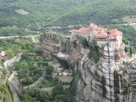 Beautiful Interior Homes by Beautiful Houses Meteora Cliffs Monastery In Greece