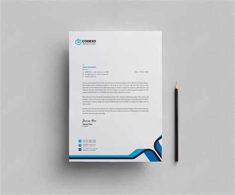 plain letterhead design template template catalog