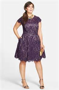 eliza j belted lace fit flare dress plus size nordstrom