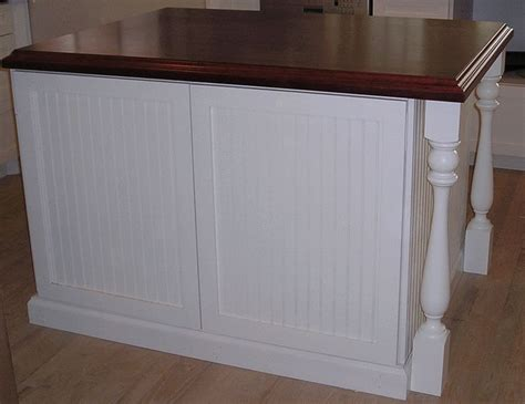 kitchen island white beadboard beautiful counter wood
