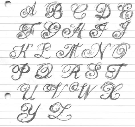 tattoo handwriting letters fancy lettering by artitek free images at clker com