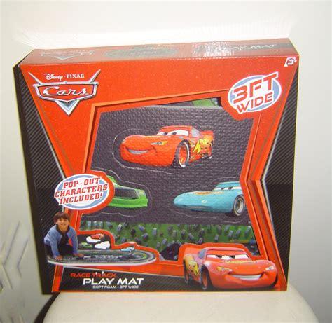 Race Car Mat by Disney Pixar Cars Race Track Play Floor Mat With Pop Out