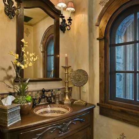 tuscan bathroom home stuff