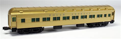 Lionel O 6 25795 Polar Express Heavyweight Scale Gold Edition Coach Car   ModelTrainStuff.com