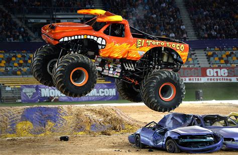 monster truck show brisbane el toro loco photos photos monster jam brisbane zimbio