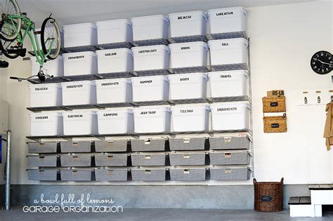 Garage Organization Totes 25 Garage Storage Ideas That Will Make Your So Much
