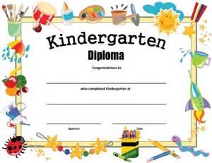 kindergarten graduation certificate template printable forms calendar template 2016