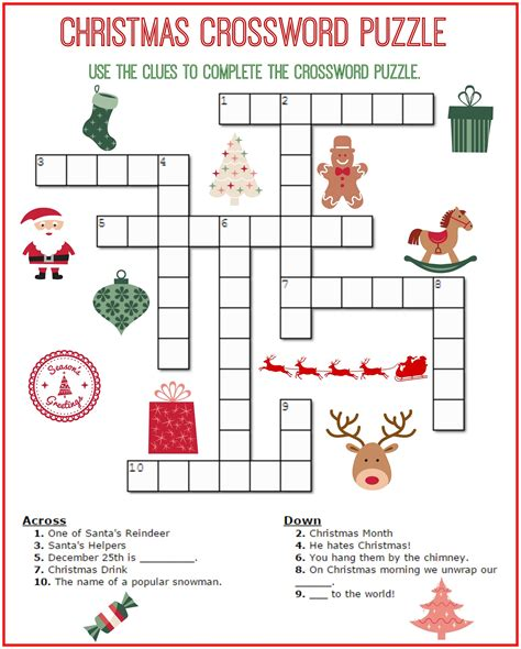 Amazing Theme For A Christmas Carol #7: Crossword-puzzle-kids-printable.jpg