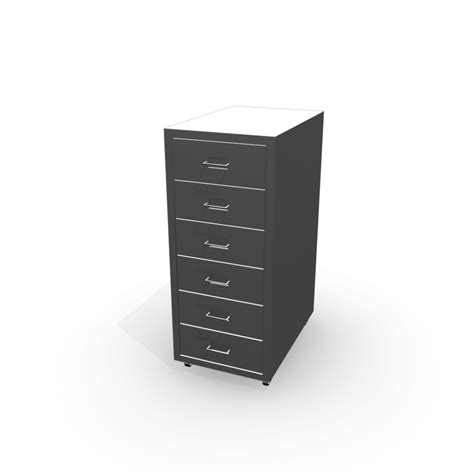 Helmer Drawer Unit by Helmer Drawer Unit On Casters Silver Color Design And
