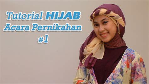 tutorial hijab untuk acara pesta pernikahan tutorial hijab untuk pesta pernikahan 1