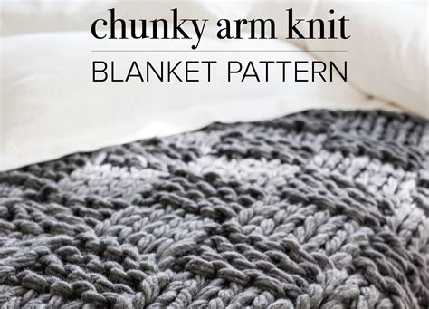 arm knit blanket pattern arm knitting how to photo tutorial part 1 on