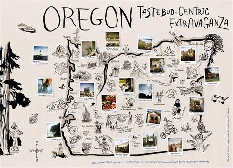 map of oregon 7 wonders image gallery large map of oregon