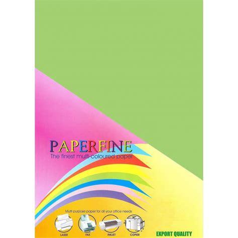 hvs a3 paperfine kertas hvs warna a3 green 500