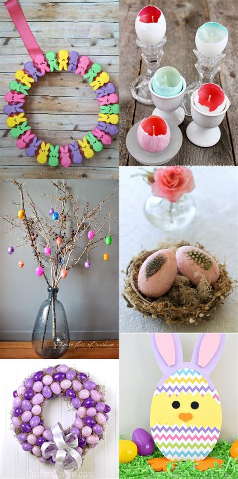 homemade easter decorations for the home 32 diy easter decorations the gracious wife