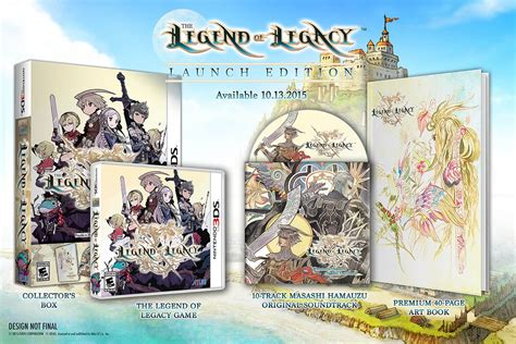 The Legacy Of A Legend the legend of legacy u s release date set launch edition