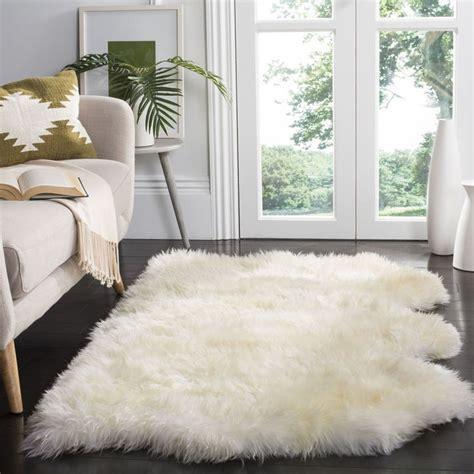 25 best ideas about sheepskin rug on white