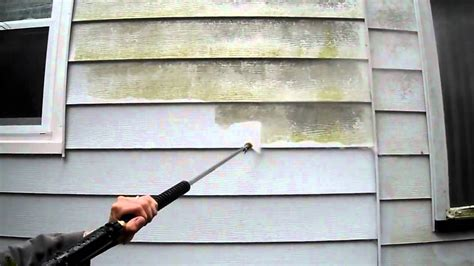 how to powerwash a house with vinyl siding power wash plus aluminum siding video d youtube