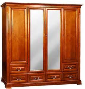 kleiderschrank kirsche klassische m 246 bel kleiderschrank 4t 252 rig kirsche spiegel