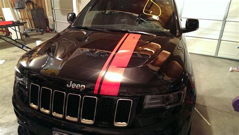 racing jeep cherokee 2014 diy racing stripe cherokee srt8 forum