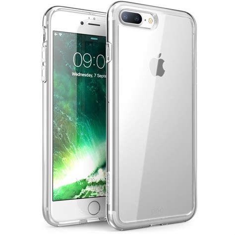 iphone 7 plus and 8 plus scratch resistant i blason clear halo series ebay
