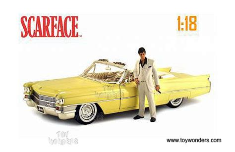 scarface cars 1963 cadillac toy diecast cars series 62 by jada toys