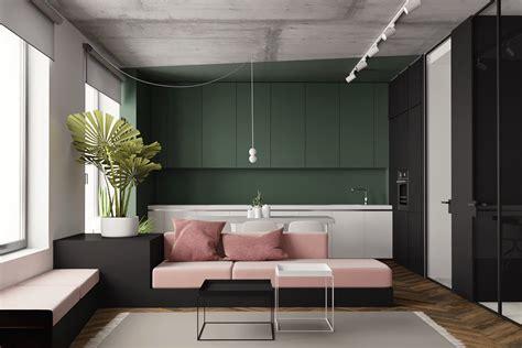 modern studio plans 5 studio apartments with inspiring modern decor themes