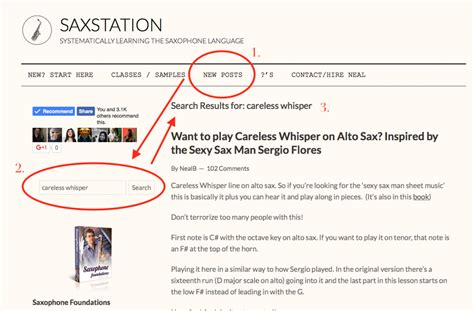 How To Search On Whisper How To Find Things On Sax Station Saxstation
