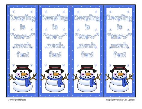 printable snowman bookmarks to color 31 best library bookmarks images on pinterest book