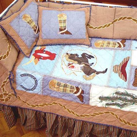 cowboy bedding for crib cowboy crib bedding ensemble