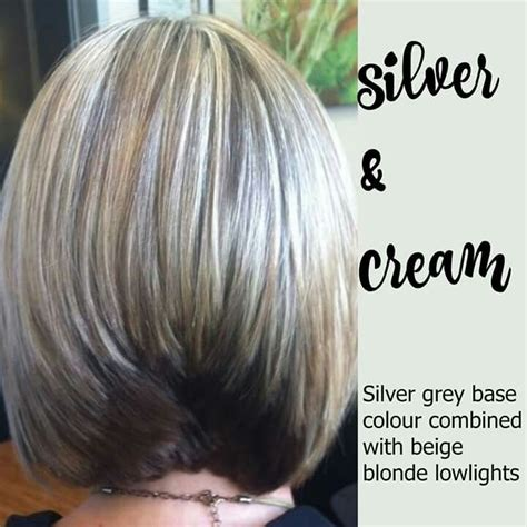 what shade of lowlights is best for grey hair 8 best blending grey lowlights images on pinterest hair