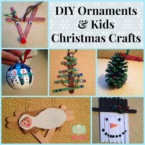 childrens handmade ornaments how to make diy ornaments with your