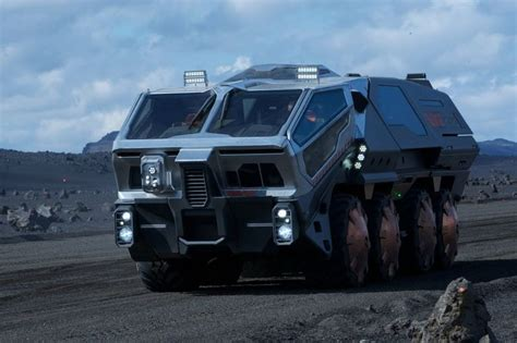 film semi x2 prometheus rt01 transport vehicle military landbase